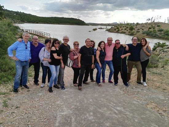 La Ventica: Gente Loca en el Pantano de Almansa.