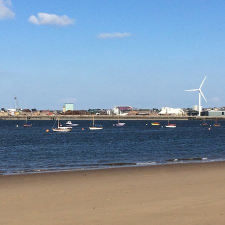 New Brighton Heritage and Information Centre: Looking over to Liverpool