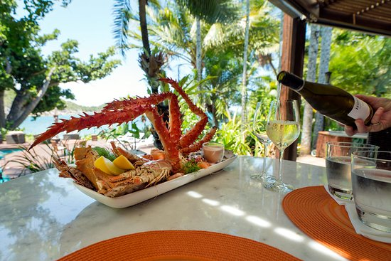 Bedarra Island, Austrália: Restaurant dining