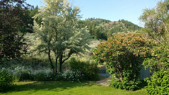 Methow Suites Bed and Breakfast: When you open your room door - this is what you'd see.