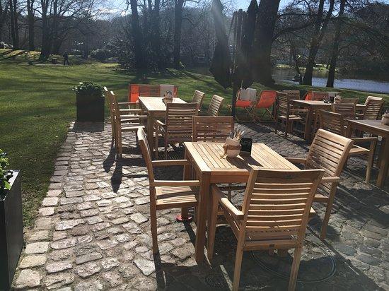 Reinbek, Deutschland: Blick auf den Mühlenteich