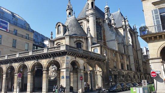 Le Temple Protestant De L'Oratoire Du Louvre