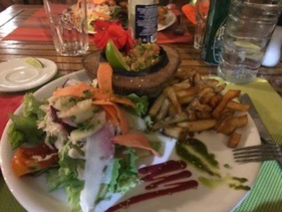 Saint Louis, Guadeloupe: Fish tartare
