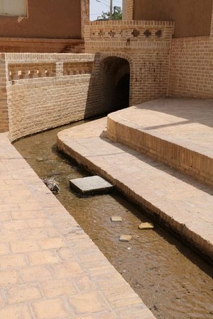Ardestan, Irán: A washing place (for clothes) or Rakhtshourkhaneh in the Mazahar (or emerging place)