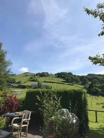 Pennal, UK: View from garden