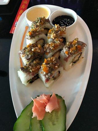 Inca's Kitchen: Sushi Roll BBQ Tenderloin-awesome!