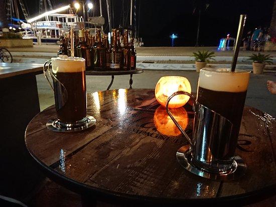 de Blanck Wine & Champagne Bar: Suverän Irish Coffee
