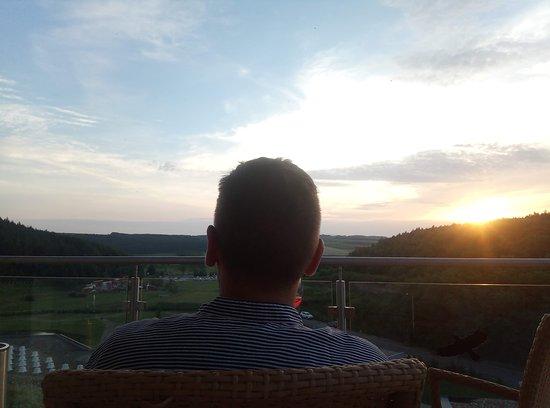 Saliris Resort: Kilátás az étterem teraszáról