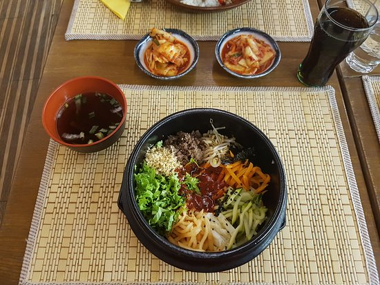 Bibimbap Korea : The traditional dish