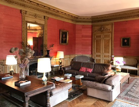 Ferce-sur-Sarthe, França: Lounge