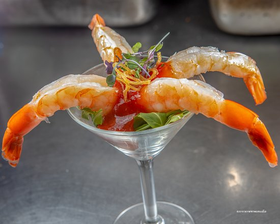 K Rico Steakhouse : Shrimp Cocktail @ K Rico