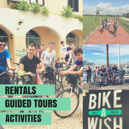 ‪Bike A Wish, Bike Rental & Tours‬