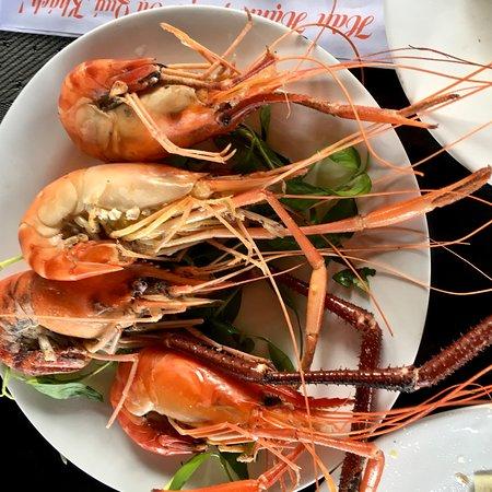 Tỉnh Bến Tre, Việt Nam: Prawns