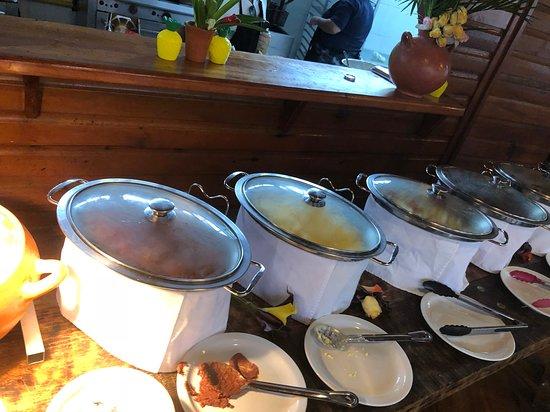 Paradise Beach Hotel : Breakfast buffet at Paradise