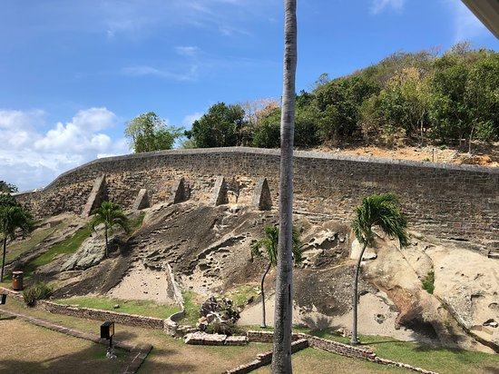 Nelson's Dockyard: Some of the ramparts around the dockyard - explore on foot