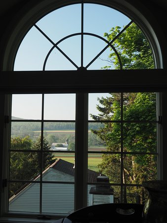 The Inn at Twin Linden: View from the Spa suite