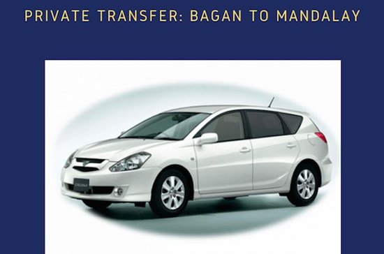 Privattransfer: Bagan nach Mandalay