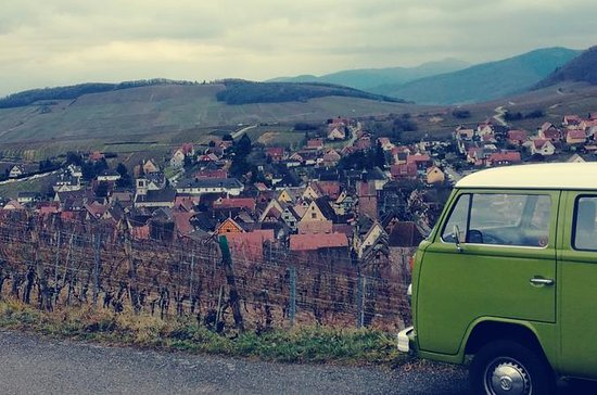 Christmas Market tour with a 70's VW...