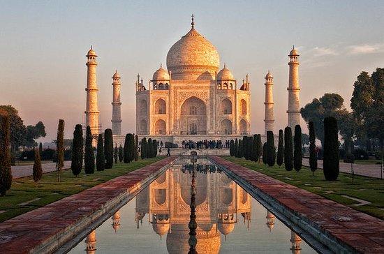 Tour d'Agra le jour même du Taj Mahal...