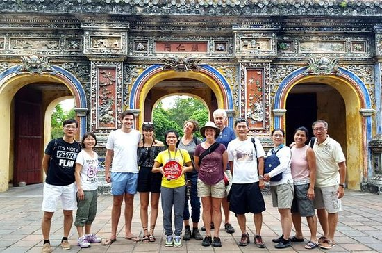 Hue Imperial City Walking Tour...