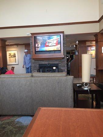 Staybridge Suites San Antonio NW near Six Flags Fiesta Texas: Part of Lobby.