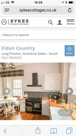 Long Preston, UK: Fully equipped dining kitchen