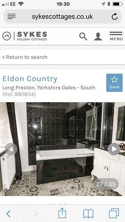 Long Preston, UK: Ensuite bathroom