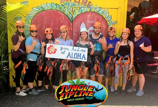 Haiku, HI: 2018.06.09.Mahalo for visiting Jungle Zipline Maui