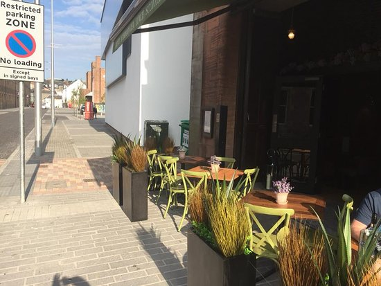 The Bothy: Outdoor Seating