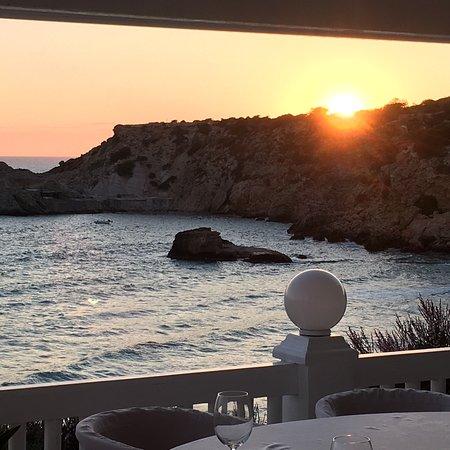 Cotton Beach Club Ibiza: Wundervolle Aussicht vom Cotton Beach Club!