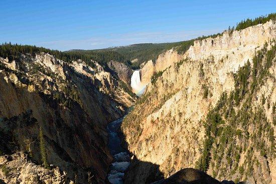 Grand Canyon of the Yellowstone ภาพถ่าย