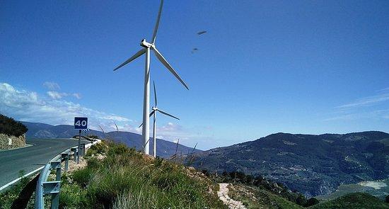 Las Alpujarras, Espanha: Molinos del siglo XXI