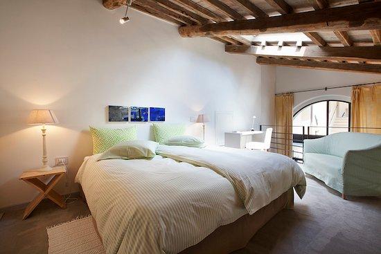 Castel Ritaldi, Italia: Suite Nr. 5, Schlafen auf der Galerie