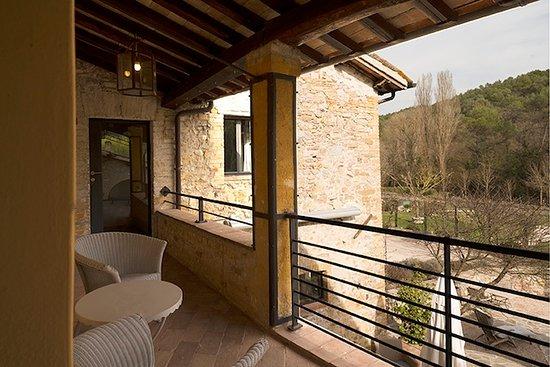 Castel Ritaldi, Italia: Suite Nr. 4, Loggia