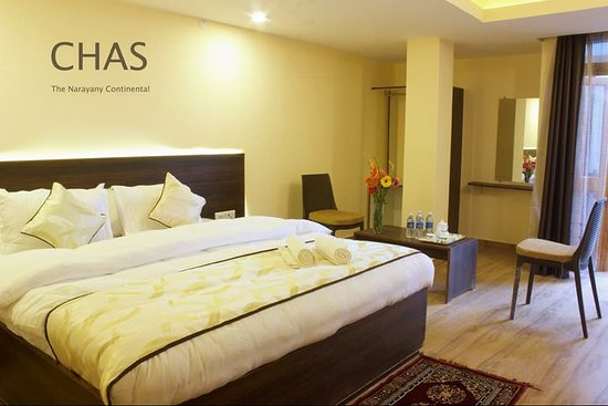 CHAS Narayani Continental: Deluxe Room