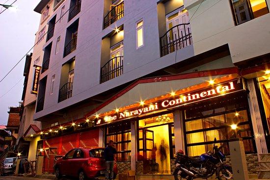 CHAS Narayani Continental: Front Facade