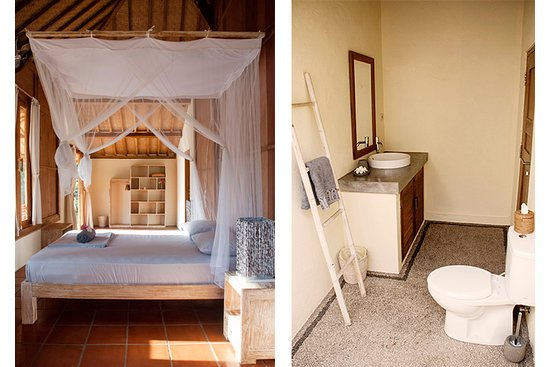 Taliwang, Indonesien: Joglo house ensuite bedroom N°1