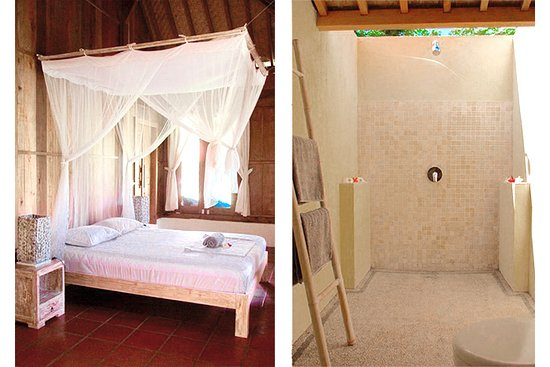 Taliwang, Indonesien: Joglo house ensuite bedroom N°2