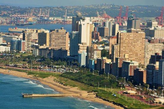 Durban City Skyline - Picture of Starlite Aviation Group, Durban ...