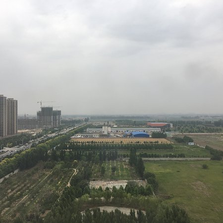 Gaobeidian, จีน: View from 15th floor
