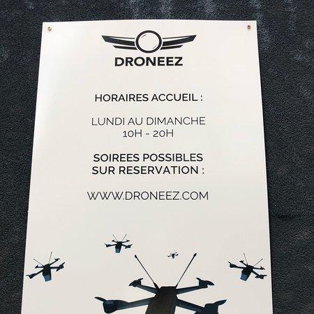 drone faucon millenium