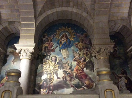 Cripta de la Almudena: Detalle capilla