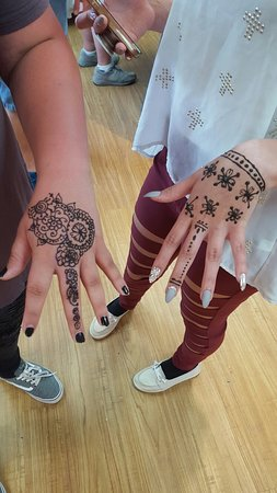Life On A Sandbar: Pirate and mermaid makeovers. Local art and henna tattoos.