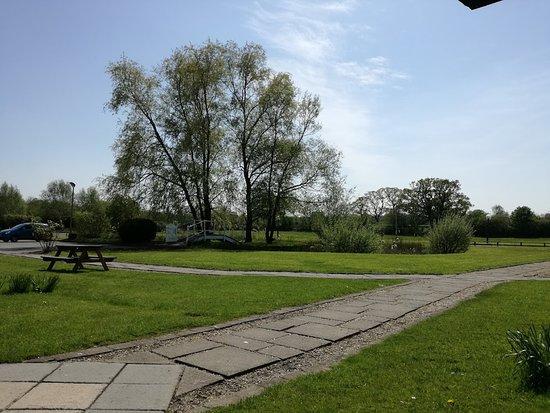 Holt, UK: courtyard