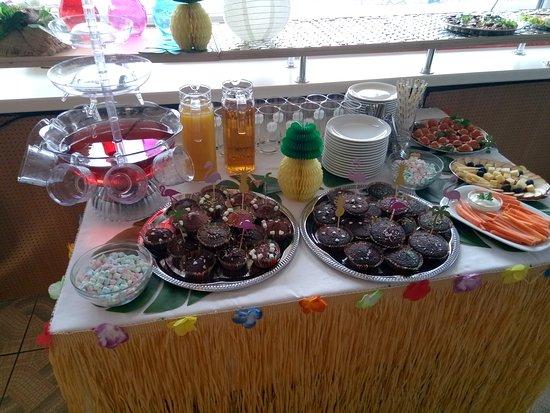 Sillamae, Estonia: Birthday party