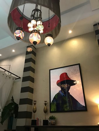 CasaBlanca Hotel: This is part of the Casablanca ambiance, the lamps are beautiful