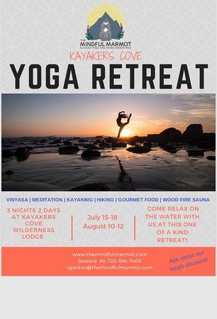 2018 Yoga Retreats at Kayakers Cove!