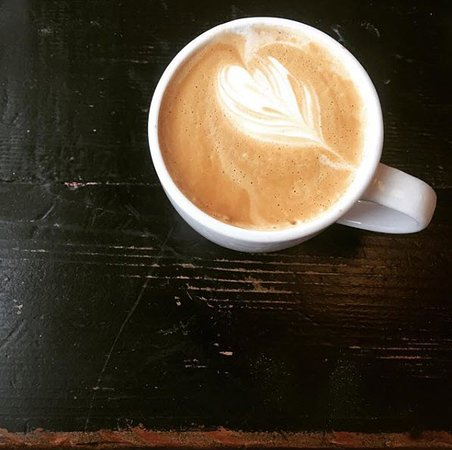 Shorewood, Висконсин: Latte from North Shore Boulangerie