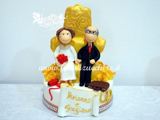 Sugar Kit Per Torta 50 Anniversario Di Matrimonio Bild Von Fate