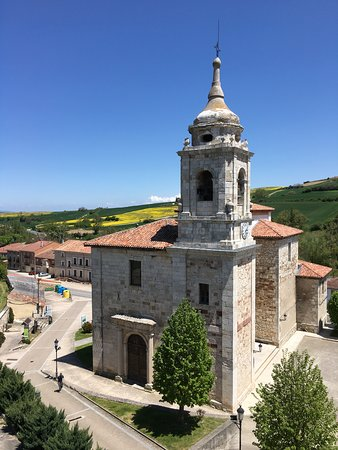 Villafranca Montes de Oca, Spanyol: Lovely view from my room down on the church